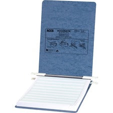 "Acco PRESSTEX Unburst Sheet Covers - 6"" Binder Capacity - Letter - 8 1/2"" x 11"" Sheet Size - Light Blue - Recycled - Retractable Filing Hooks, Hanging System, Moisture Resistant, Water Resistant - 1 / Each"
