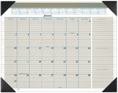 2021 At-A-Glance Executive Monthly Calendar Desk Pad