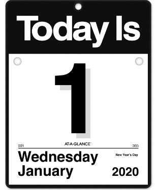 2021 At-A-Glance Today Is Wall Calendar - LARGE