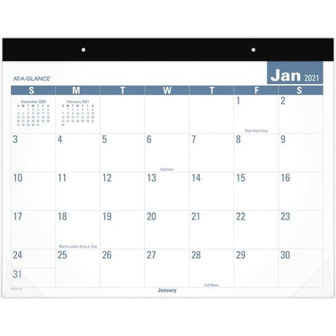 2021 E-Z Read Monthly Desk Pad/Calendar