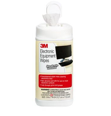 3M™ Pre-moistened Electronic Cleaning Wipes