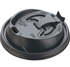 Dart Reclosable Drink Lid - Black