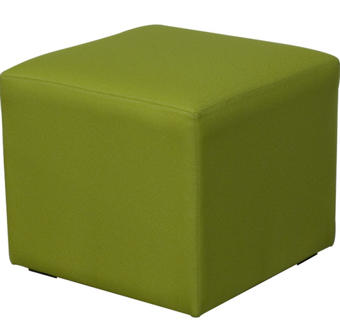 Flex Collection Upholstered Ottoman Cube by HPFi