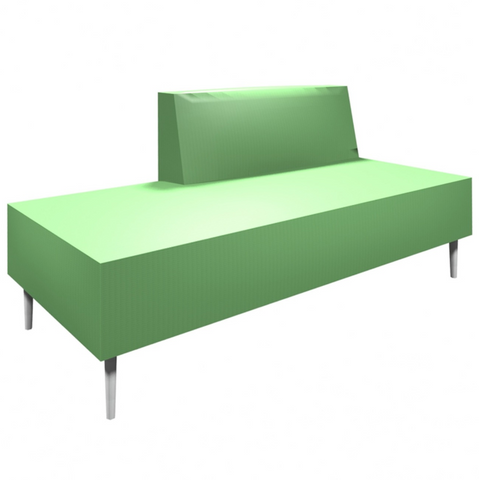 Eve Collection Armless Sofa Bench by HPFi