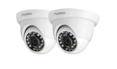 Lorell® 5 Megapixel Surveillance Camera - 2 Pack (Dome or Bullet)