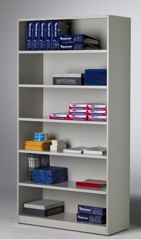 Mailflow-To-Go™ Bulk Storage Cabinet - No Doors