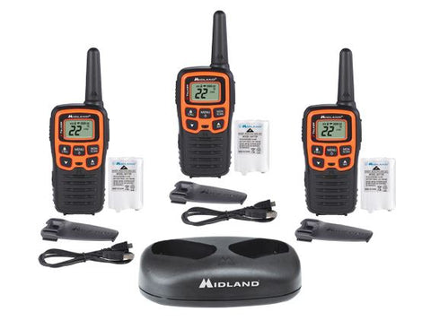 X-Talker T51X3VP3 Walkie Talkie Three Pack
