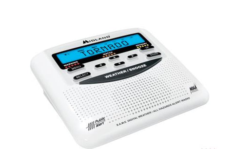 Midland WR120 NOAA Weather Alert Radio