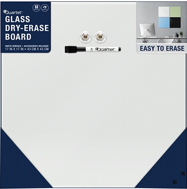 Quartet Glass Dry-Erase Board, Magnetic