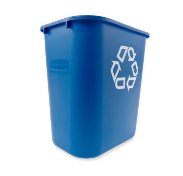 Rubbermaid Commercial Products® Recycling Wastebasket