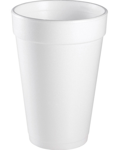 Dart Insulated Foam Cups - 1000 ct