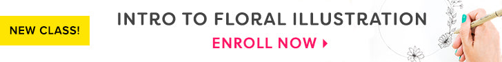 Intro To Floral Illustration Online Class