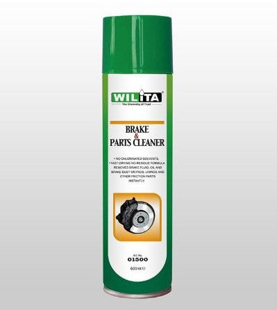 WILITA BRAKE AND PARTS CLEANER 600ml AEROSOL (01500)