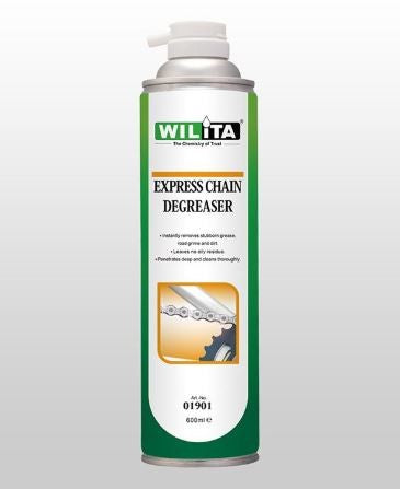 WILITA EXPRESS CHAIN DEGREASER 600ml AEROSOL (01901)