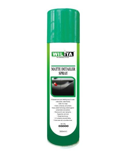 WILITA MATTE DETAILER SPRAY 300ml AEROSOL (03000)