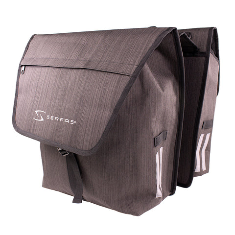SERFAS PANNIER BAG DOUBLE (PB-2BLK)