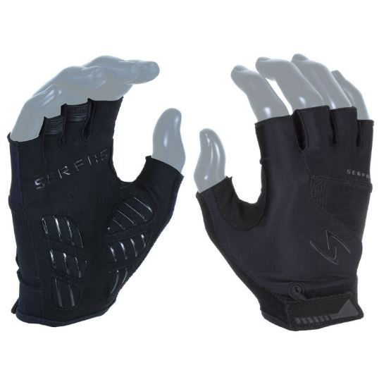SERFAS GLOVES VIGOR (WOMEN'S) Short Fingers - black