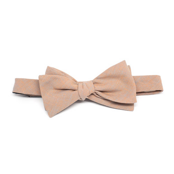 Copy of Coral & Grey Bow Tie by Kathrine Zeren