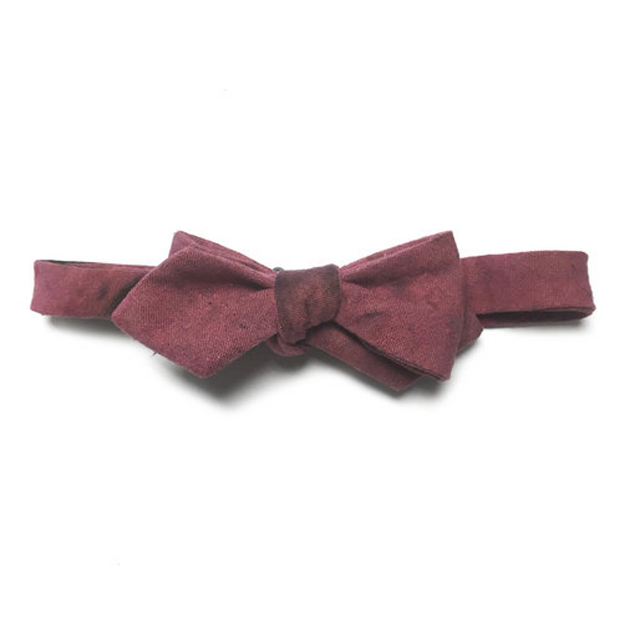 Speckled Plum Bow Tie by Kathrine Zeren