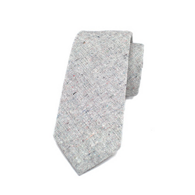 Heather Grey Necktie by Kathrine Zeren