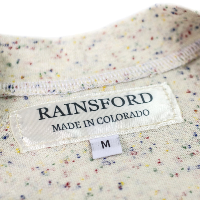 Speckled Pocket Tee by Rainsford