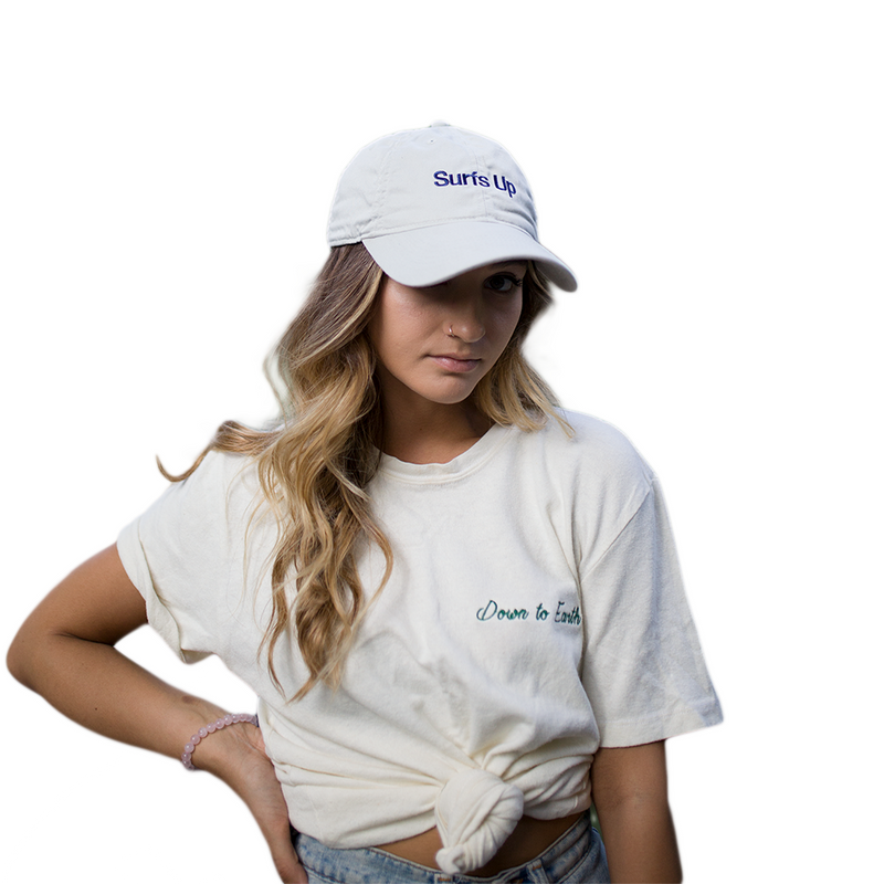 Surfs Up Hat by Adoshi x Down To Earth
