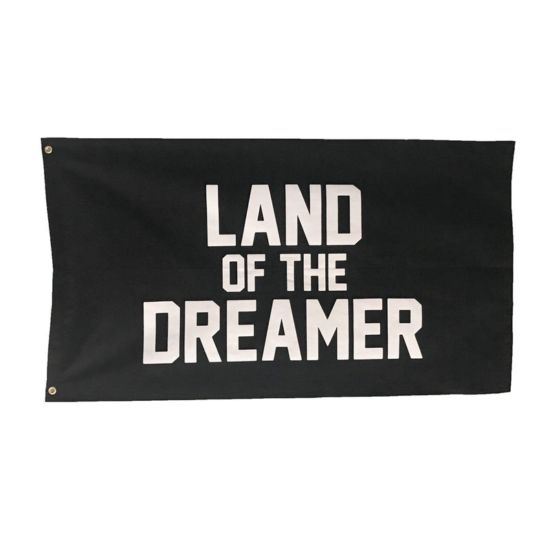Land Of The Dreamer Flag by The Parative Project