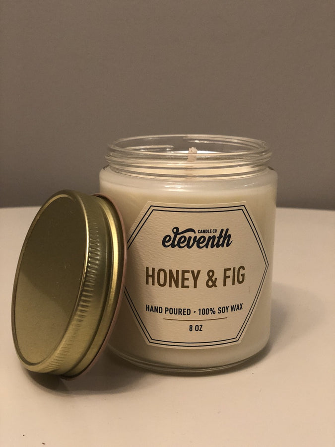 Honey & Fig Candle by Eleventh Candle Co.