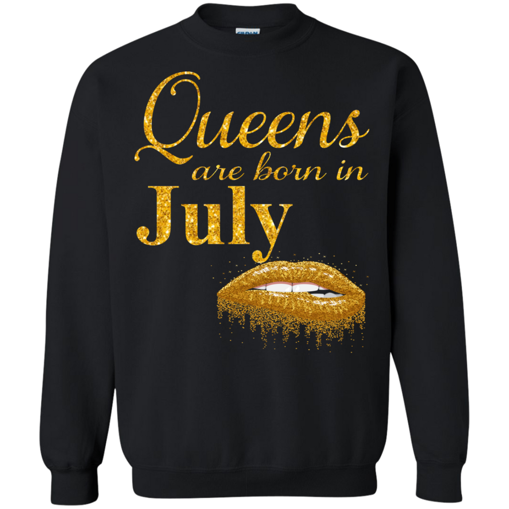 Queens Are Born In July T Shirt Birthday Shirts For Women