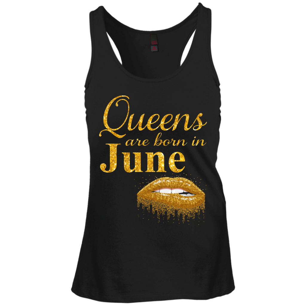 Queens Are Born In June T Shirt Birthday Shirts For Women