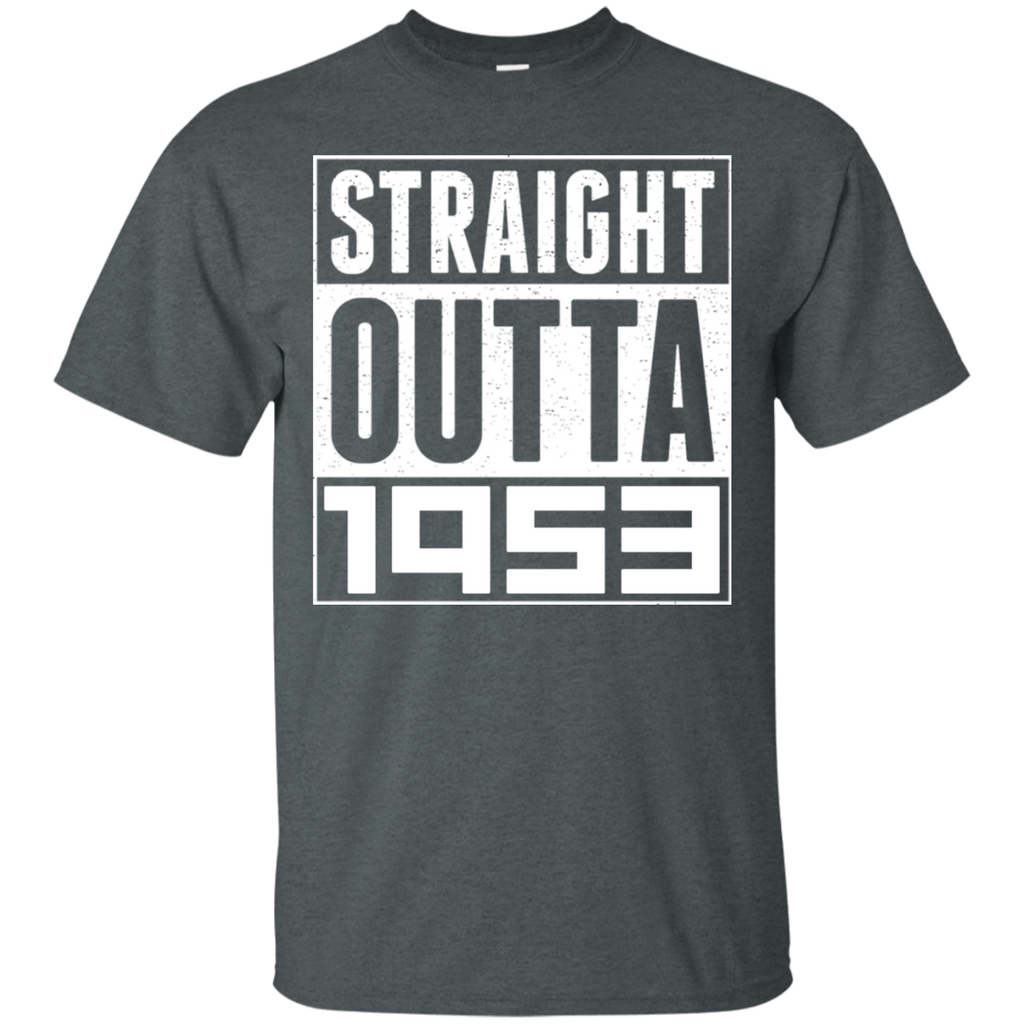 STRAIGHT OUTTA 1953 T Shirts 65th Birthday Shirt Gift