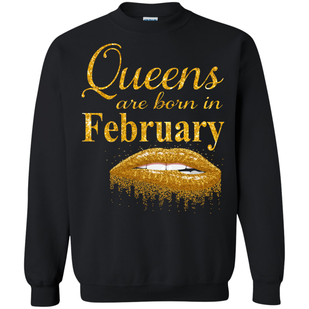Queens Are Born In February T Shirt Birthday Shirts For Women