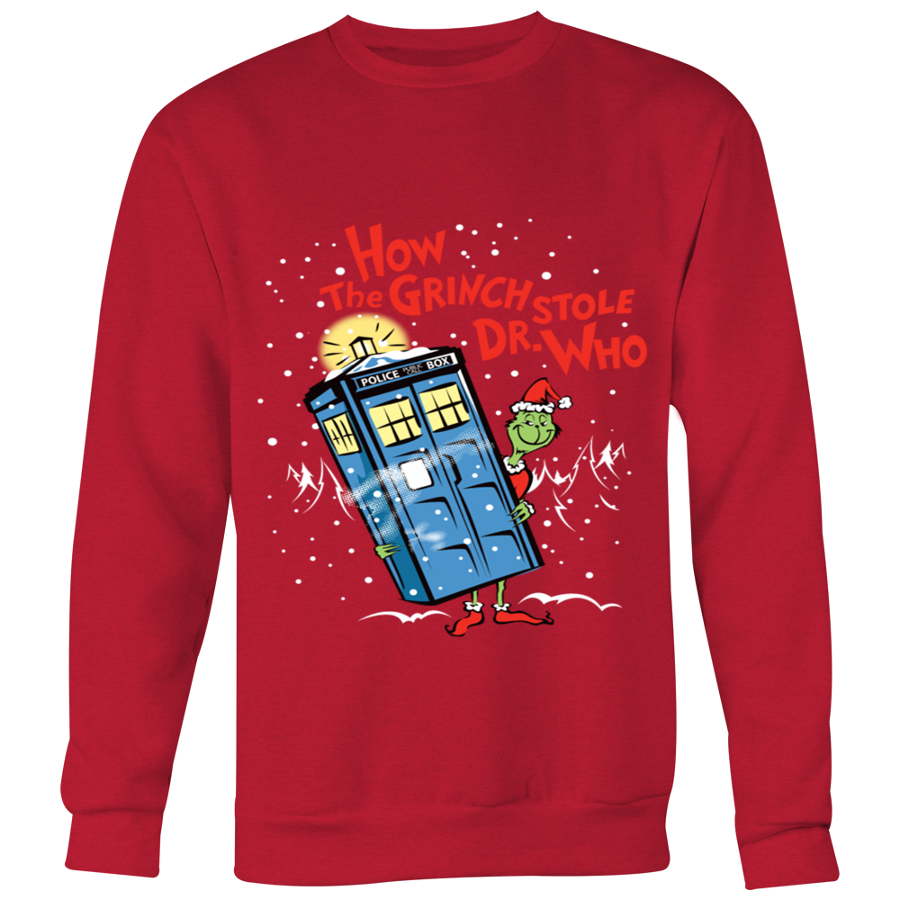 4d57ebb91 How The Grinch Stole Dr Who Merry Christmas – Superdesignshirt