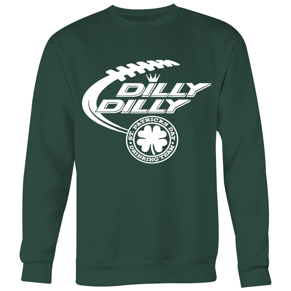 d6b29ed51cb33 ... Dilly Dilly St. Patrick s Day drinking Team Bud Light T-Shirts Gift For  Holidays ...