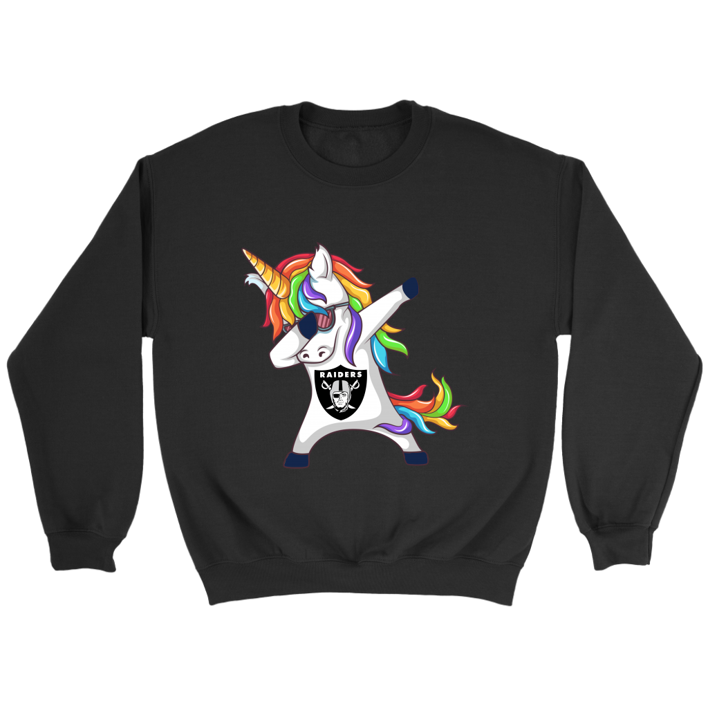 Unicorn Dabbing Hiphop Oakland Raiders T-Shirts Funny Gift ...