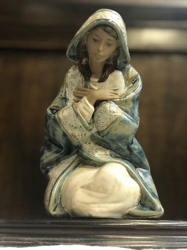 Lladro Virgin Mary GRES finish