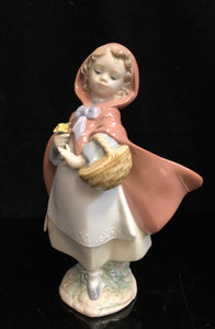 Lladro Little Red Riding Hood
