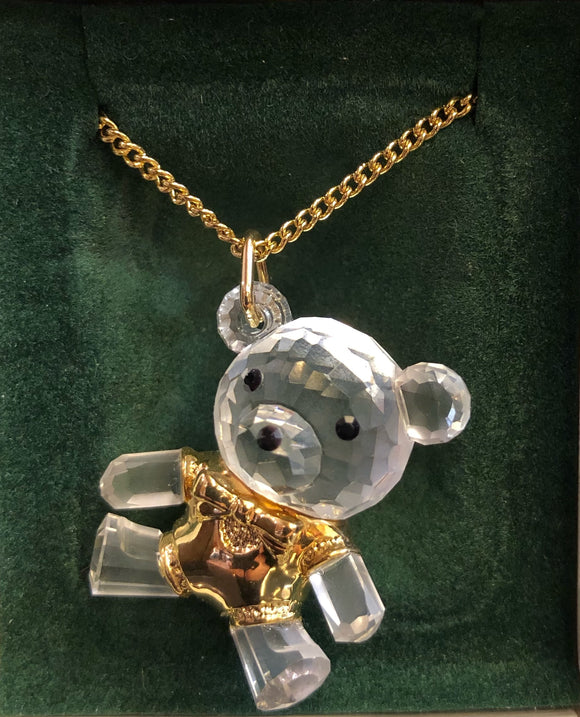 Swarovski Teddy Bear Necklace