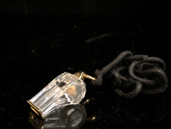 Swarovski Whistle Pendant