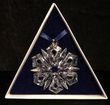 Swarovski 1999 Christmas Ornament