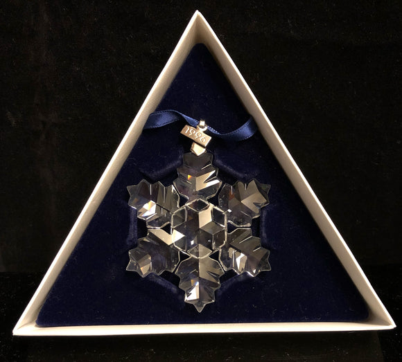 Swarovski 1996 Christmas Ornament