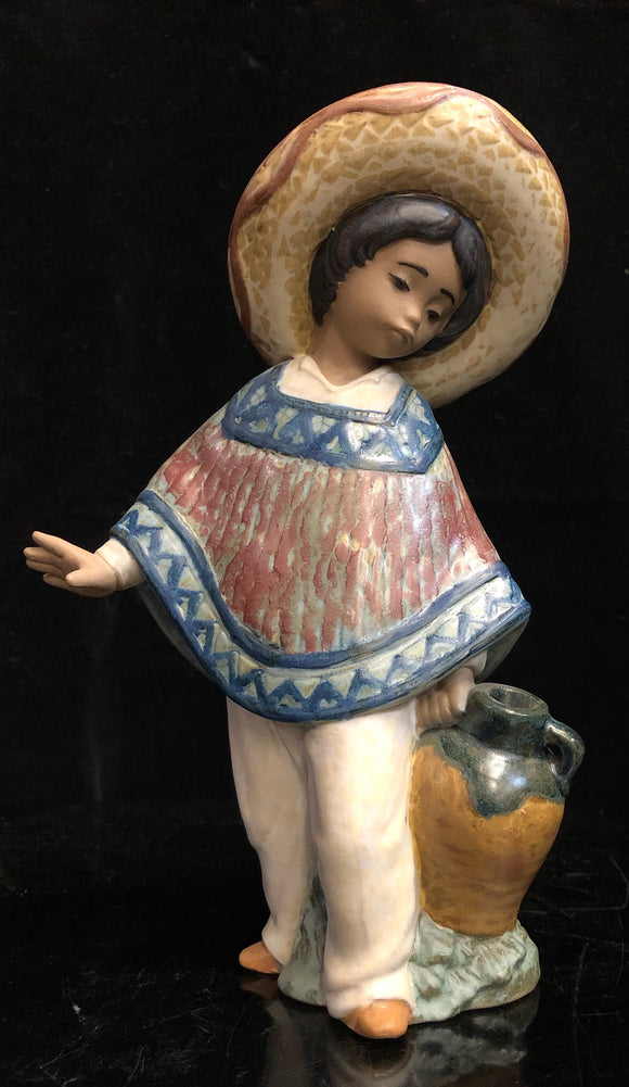 Lladro Pedro with Jugs