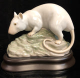 Lladro Zodiac: The Rat