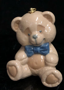 Lladro Teddy Bear Ornament