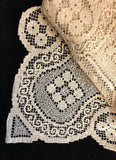 Tuscany Lace Tablecloth