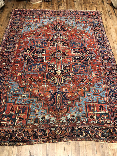 Antique Persian Heriz