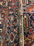 Antique Hand-Knotted Persian