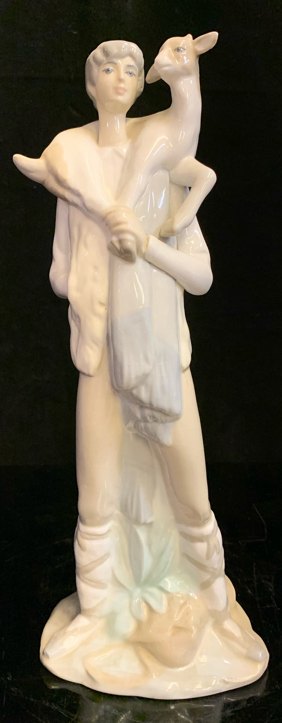 Lladro Boy with Goat