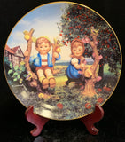 Hummel Apple Tree Boy and Girl Plate