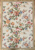 Chinese Floral Needlepoint